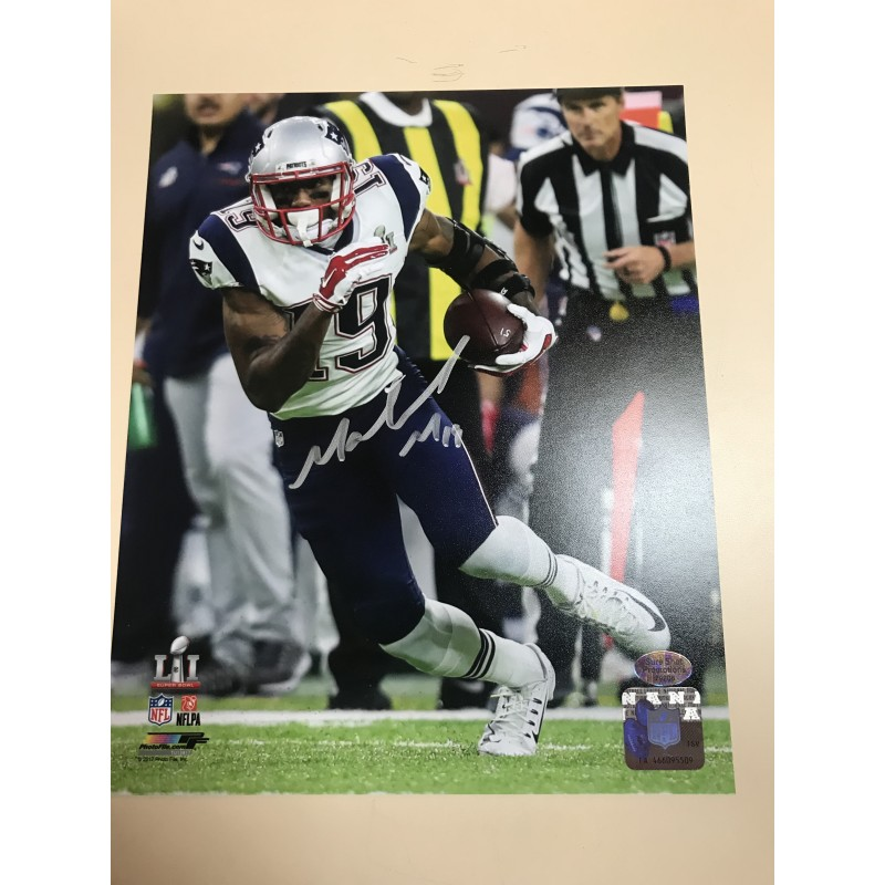 Malcolm Mitchell Autographed 8x10 Photograph