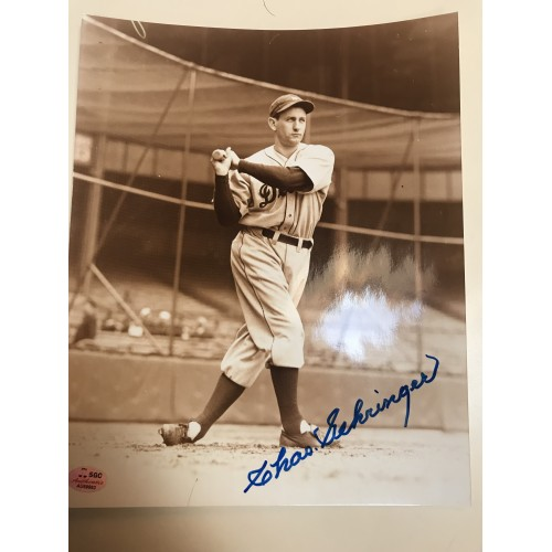 Charlie Gehringer Autographed 8x10 Photograph