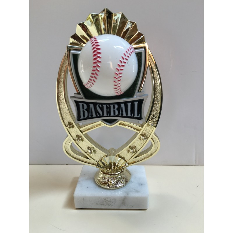 Baseball Starburst Trophy