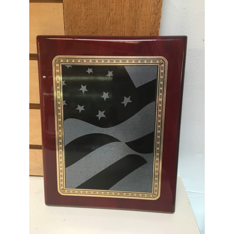 Flag Plaque