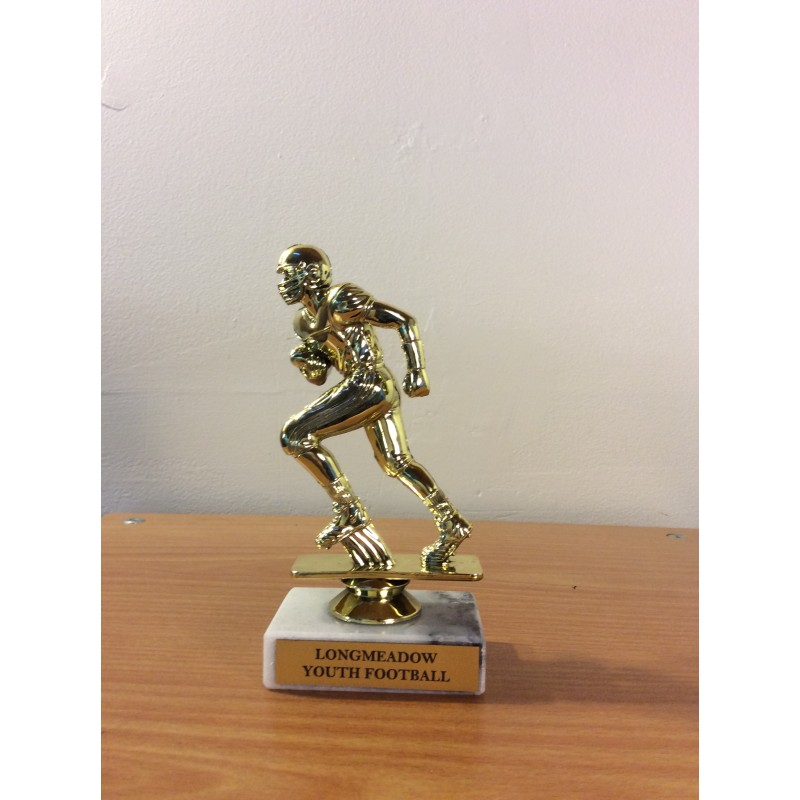 Football Figure on Base