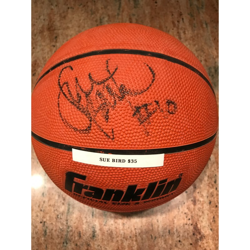 Sue Bird Autographed Basketball