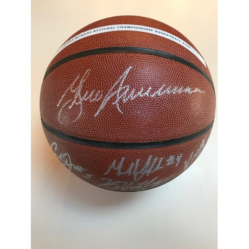 2013 UCONN Women's Basketball Team Autographed Basketball