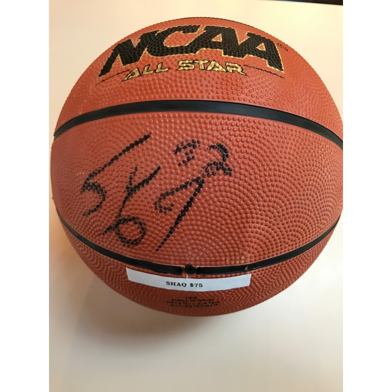 Shaquille O'neal Autographed Basketball