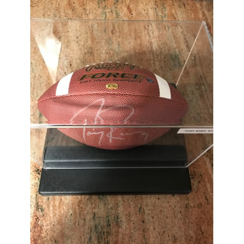 Tony Romo Autographed Football