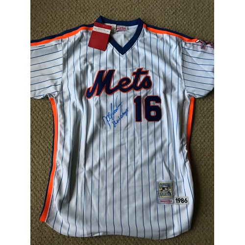 Doc Gooden Autographed Jersey
