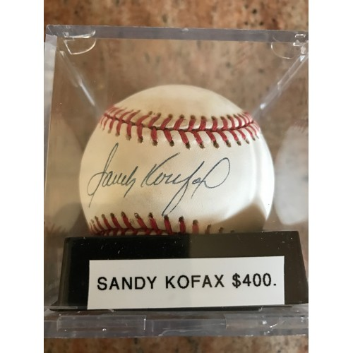 Andy Pettite Autographed Baseball