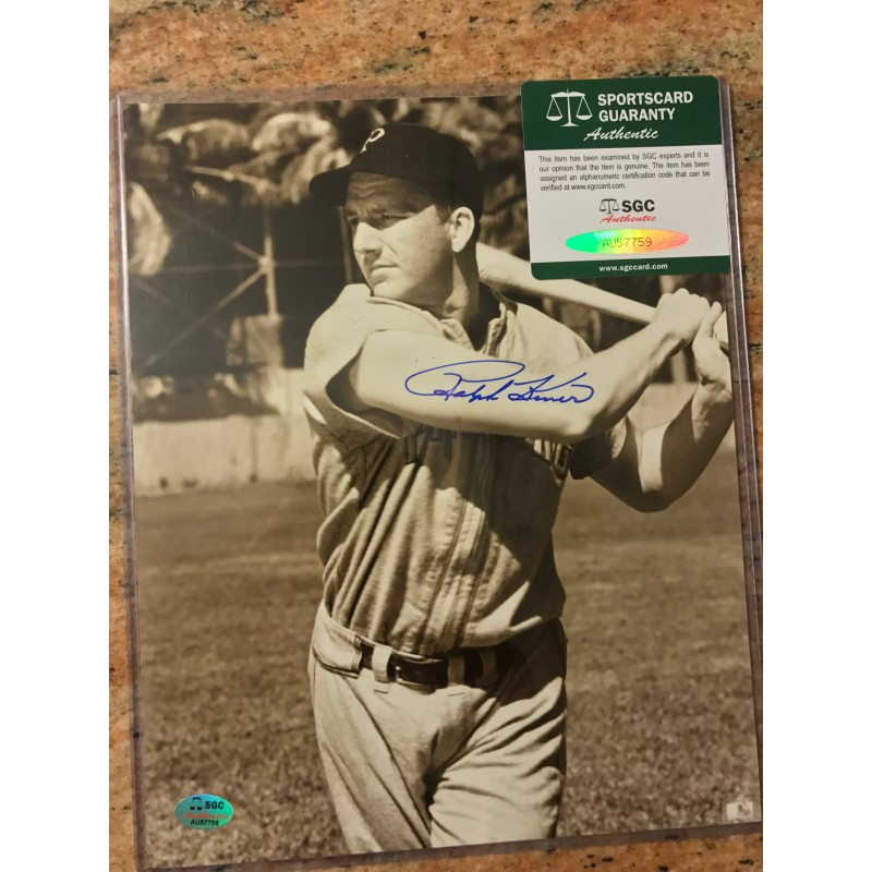 Carl Hubbell Autographed Photograph