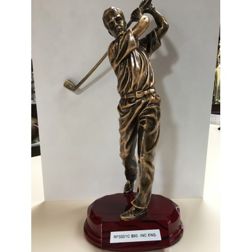 12 1/4 inch Male Golf Resin