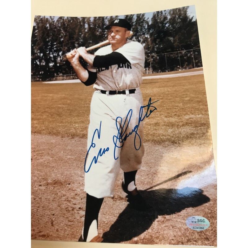 Billy Herman Autographed 8x10 Photograph