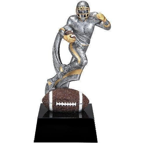 Football Action Resin on Base