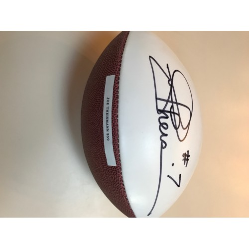 Joe Theismann Autographed Football