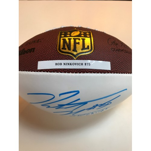 Rob Ninkovich Autographed Football