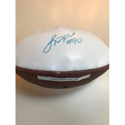 Jason-Pierre-Paul Autographed Football