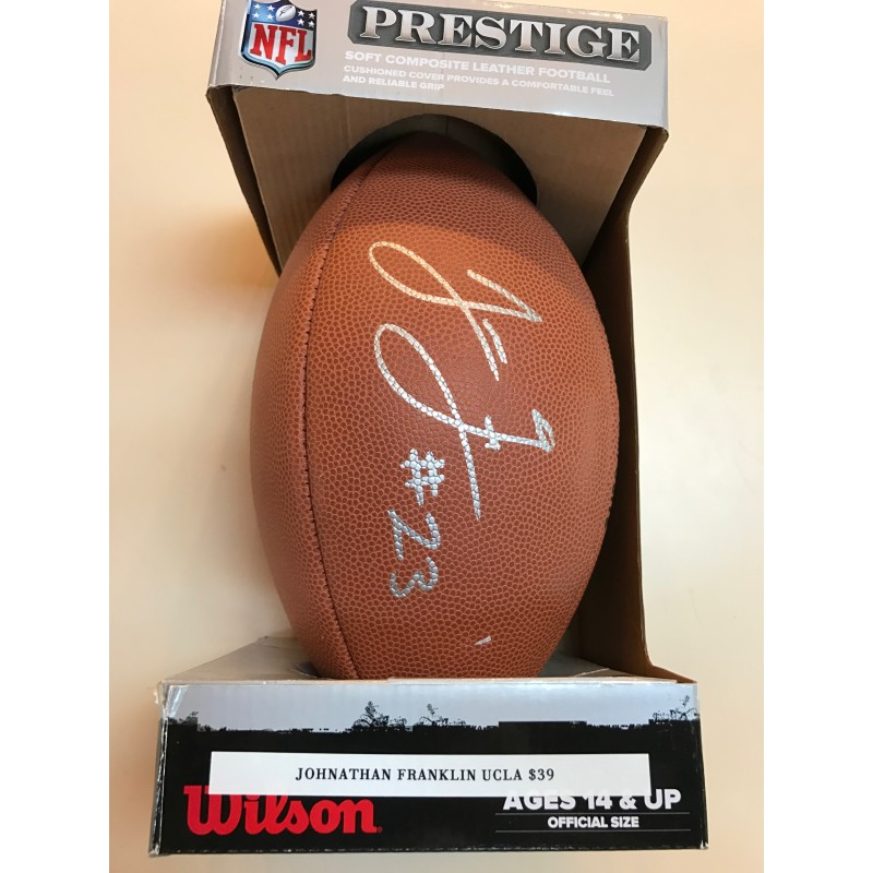Jonathan Franklin (UCLA) Autographed Football
