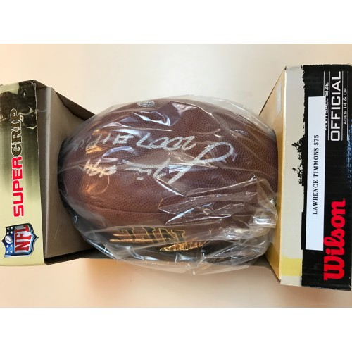 Lawrence Timmons Autographed Football