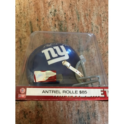 Antrel Rolle Autographed Mini Helmet