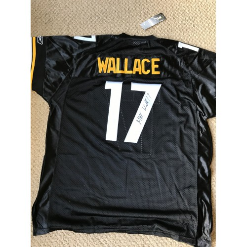 Mike Wallace Autographed Jersey