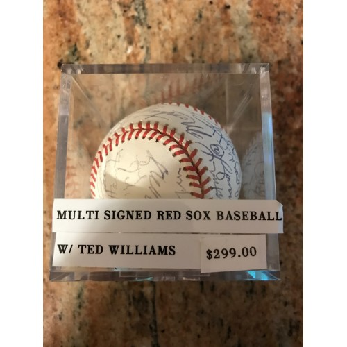 Multi signed Red Sox Autographed Baseball