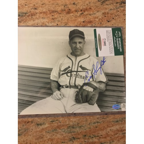 Billy Herman Autographed Photograph