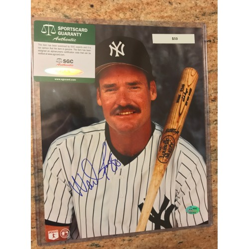 Rick Ferrell Autographed Photograph